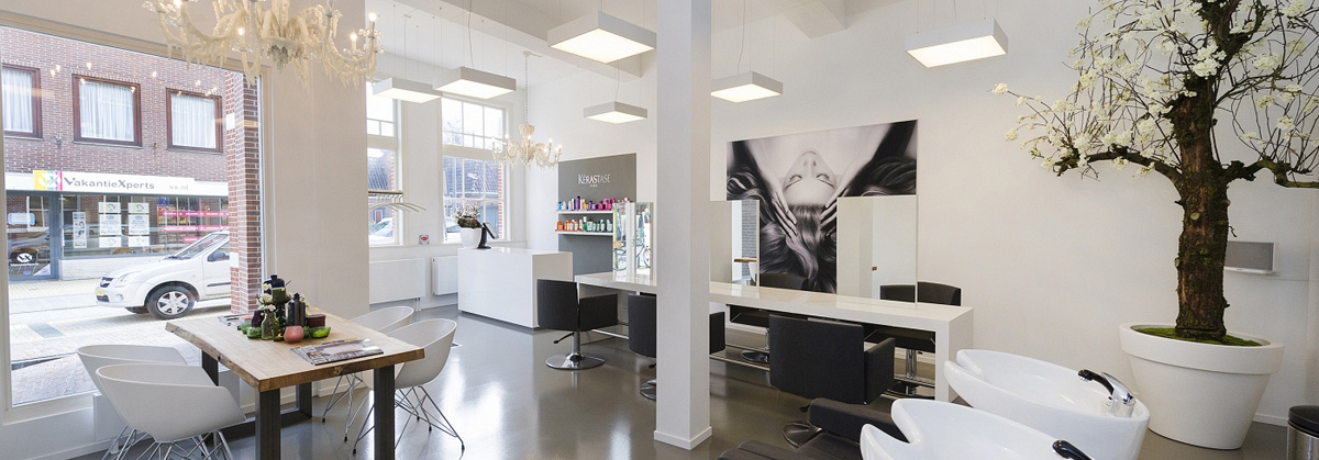 Verbouw salon
