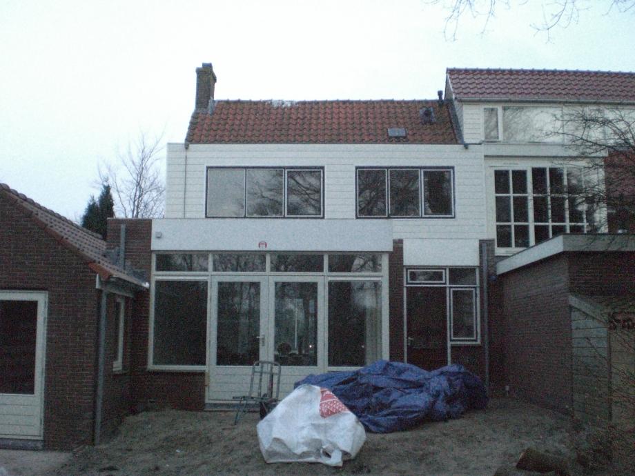 Verbouw woning